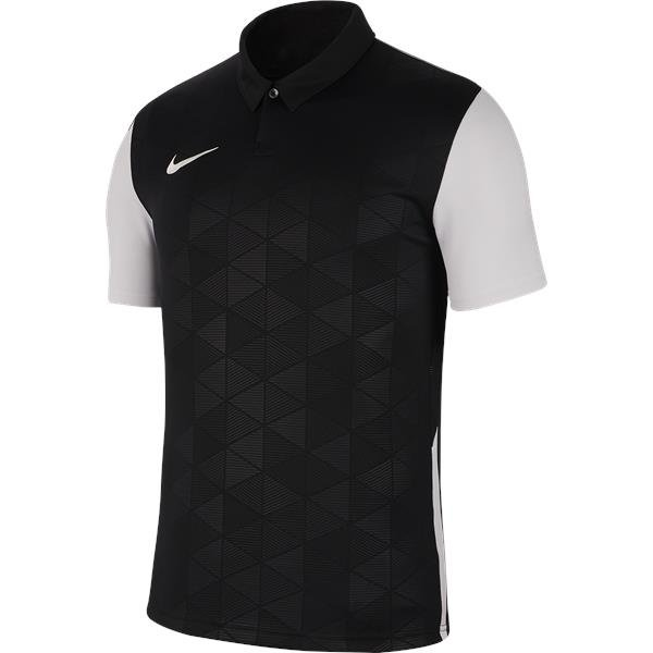 Nike Trophy IV SS Football Shirt White/black