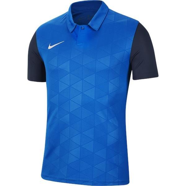 Nike Trophy IV SS Football Shirt Royal Blue/Mid Navy