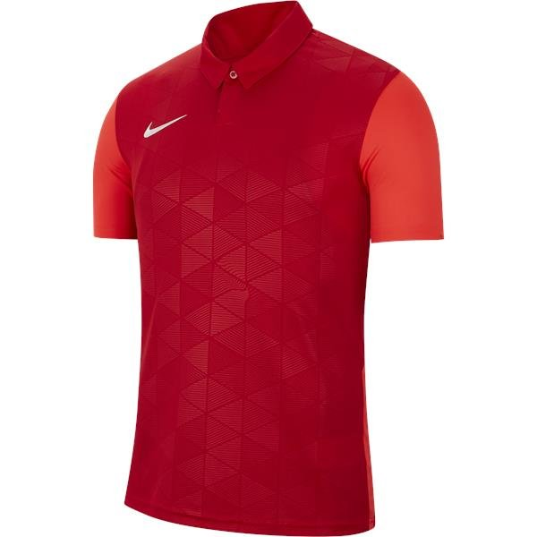 Nike Trophy IV SS Football Shirt University Red/Team Red