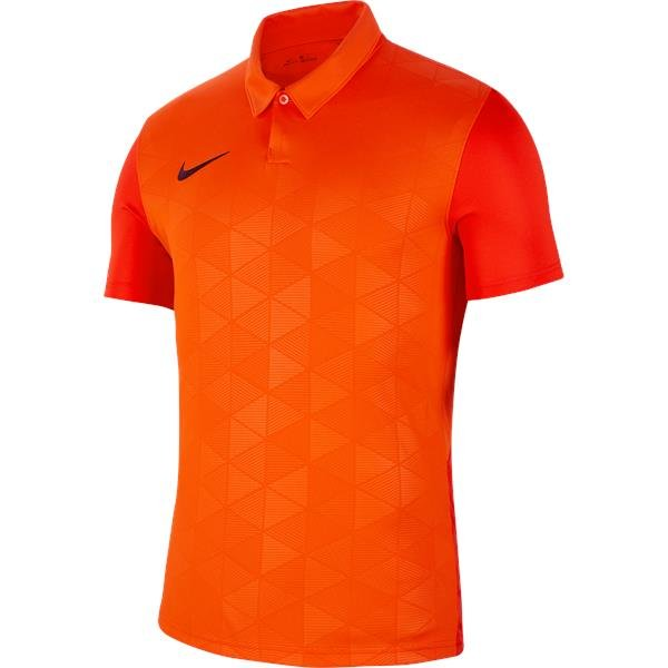 Nike Trophy IV SS Football Shirt Safety Orange/Team Orange