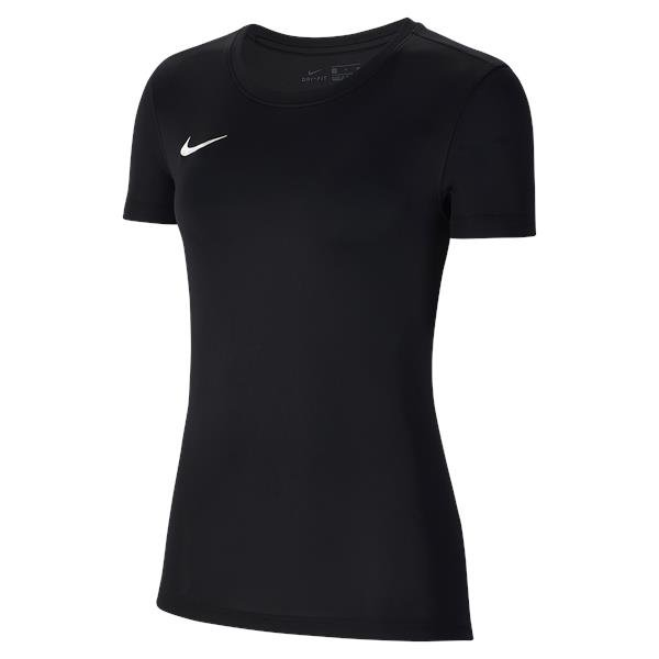 Nike Womens Park VII Football Shirt White/black