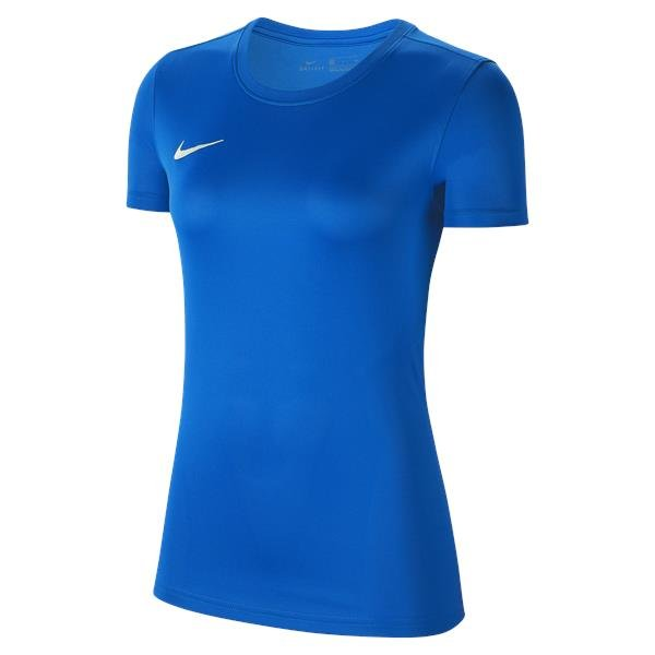 Nike Womens Park VII Football Shirt Royal Blue/White