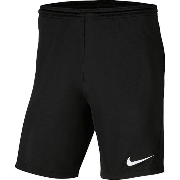 Nike Park III Knit Short White/black