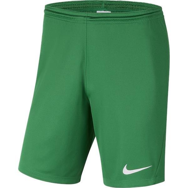 Nike Park III Knit Short Pine Green/White