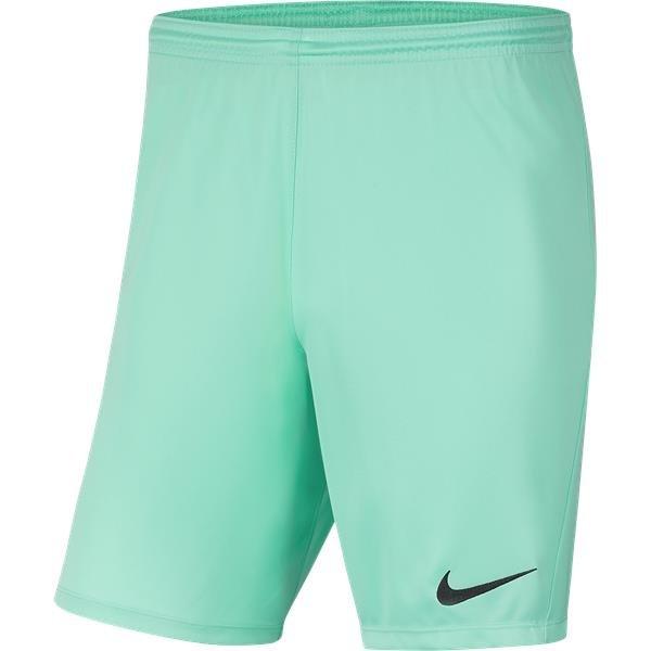 Nike Park III Knit Short Hyper Turq/Black