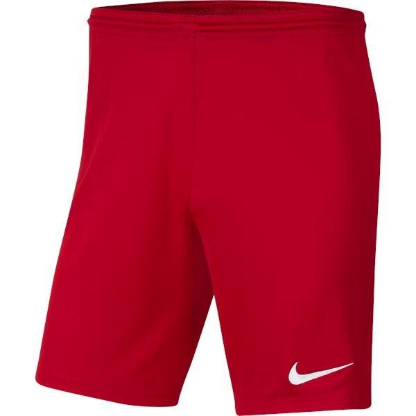 Nike Park III Knit Short University Red/White