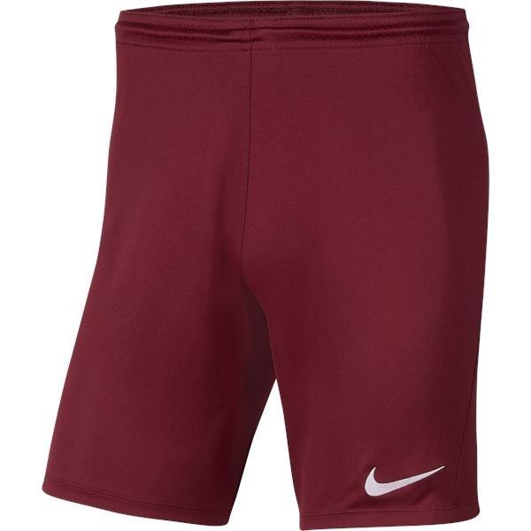 Nike Park III Knit Short Team Red/White