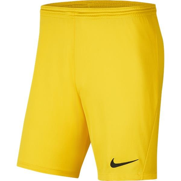 Nike Park III Knit Short Tour Yellow/Black