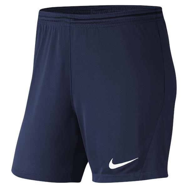 Nike Park III Womens Short Mid Navy/White
