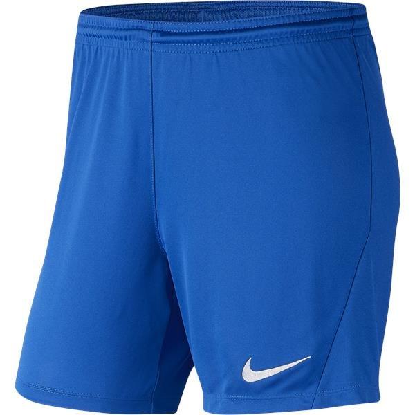Nike Park III Womens Short Royal Blue/White