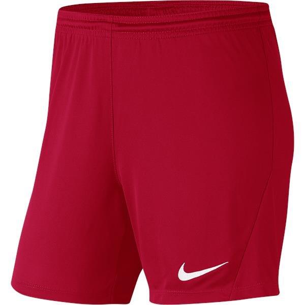 Nike Park III Womens  Short Uni Red/White