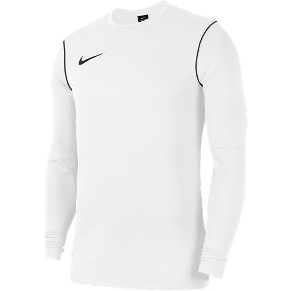 Nike Park 20 White/Black Crew Top