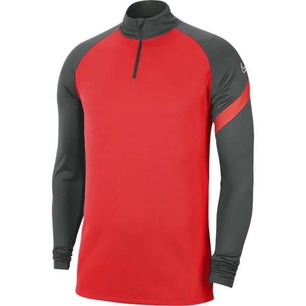 Nike Academy Pro Drill Top Bright Crimson/Anthracite