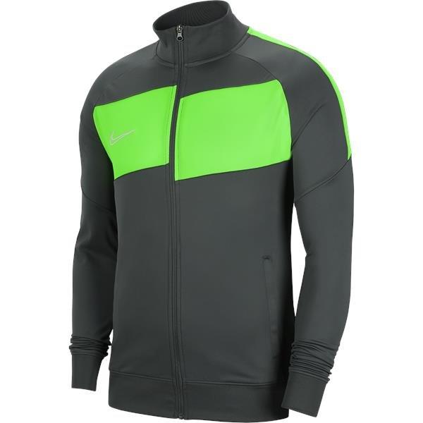 Nike Academy Pro Knit Jacket Anthracite/Green Strike