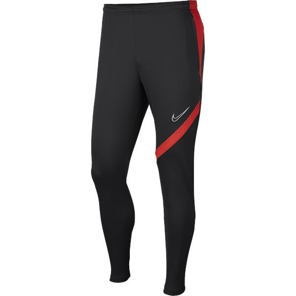 Nike Academy Pro Knit Pant Anthracite/Bright Crimson