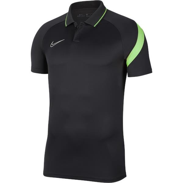 Nike Academy Pro Polo Anthracite/Green Strike
