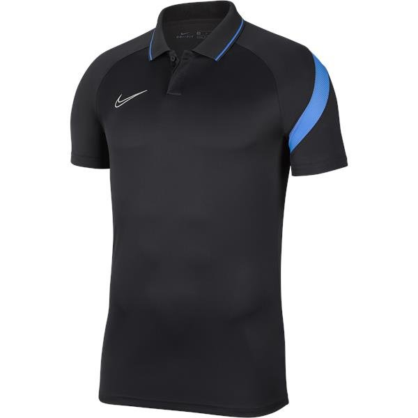 Nike Academy Pro Polo Anthracite/Photo Blue