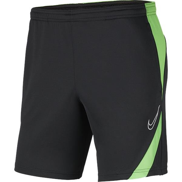 Nike Academy Pro Knit Short Anthracite/Green Strike