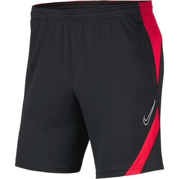 Nike Academy Pro Knit Short Anthracite/Bright Crimson