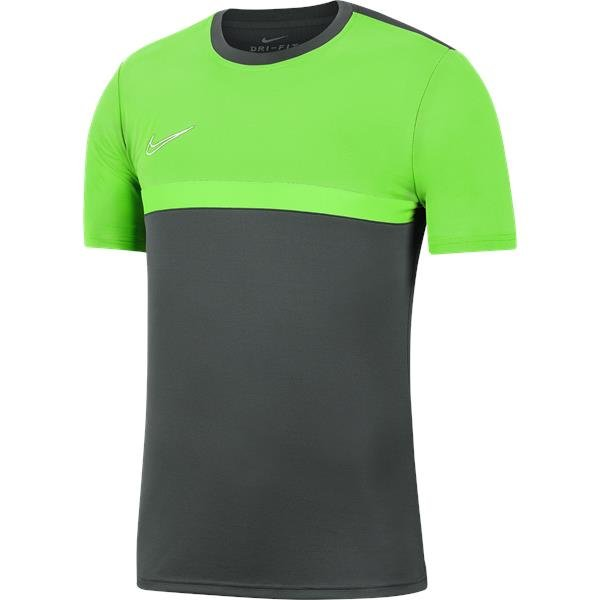 Nike Academy Pro Training Top Anthracite/Green Strike