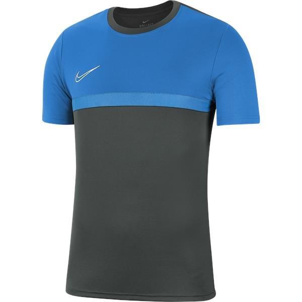 Nike Academy Pro Training Top Anthracite/Photo Blue