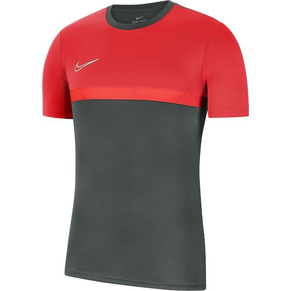 Nike Academy Pro Training Top Anthracite/Bright Crimson