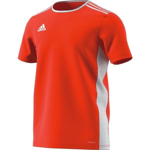 adidas Entrada 18 Orange/White Football Shirt
