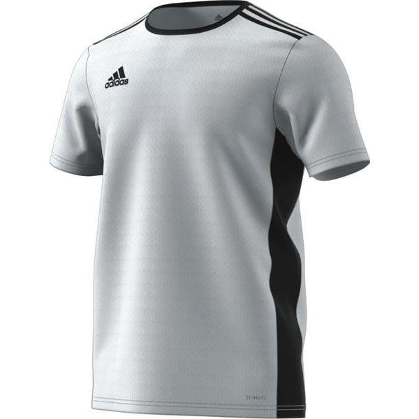 adidas Entrada 18 White/Black Football Shirt