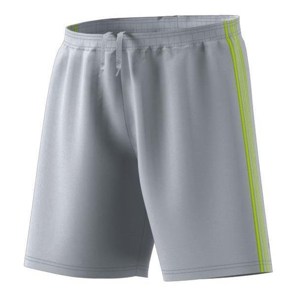 adidas Condivo 18 Grey/Semi-Solar Yellow Football Short