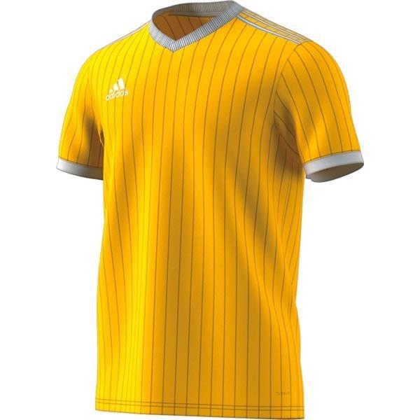 adidas Tabela 18 SS Yellow/White Football Shirt