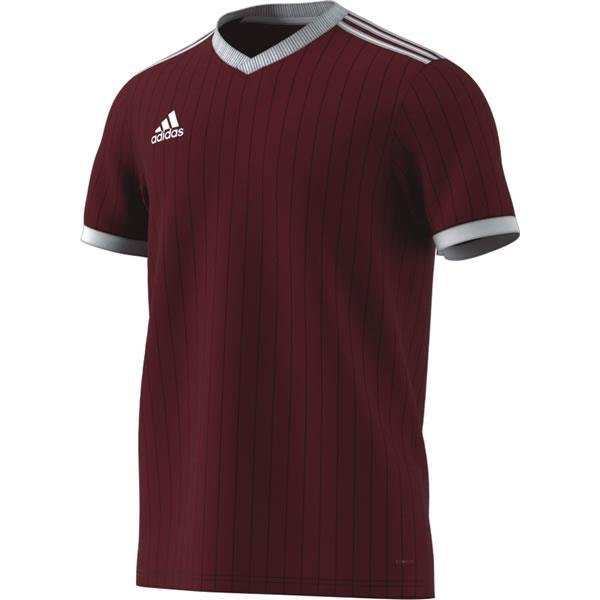 adidas Tabela 18 SS Maroon/White Football Shirt