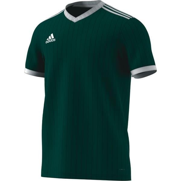 adidas Tabela 18 SS Collegiate Green/White Football Shirt