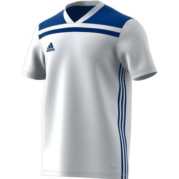 adidas Regista 18 White/Bold Blue Football Shirt