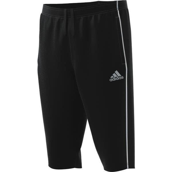 adidas Core 18 3/4 Pants White/black