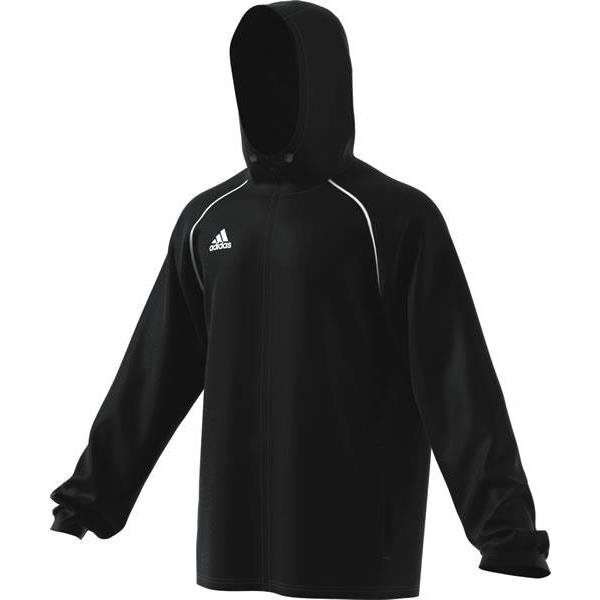 adidas Core 18 Rain Jacket Black/white