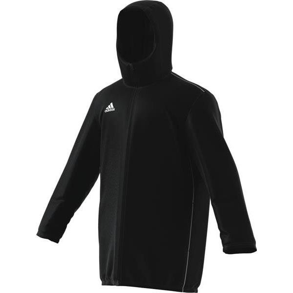 adidas Core 18 Stadium Jacket White/black