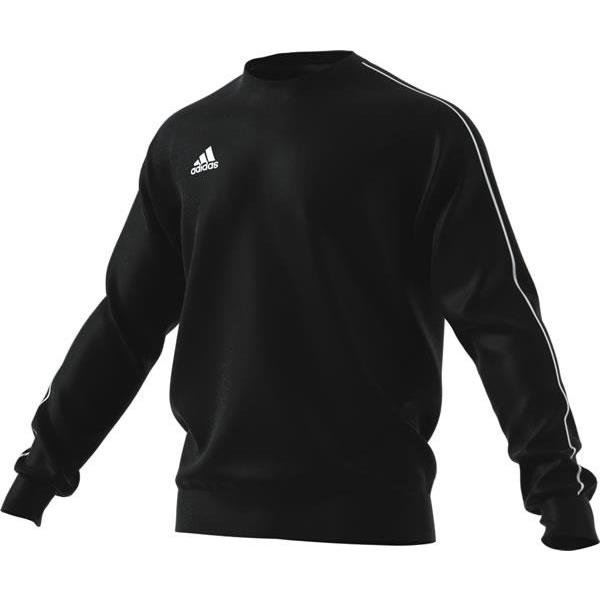 adidas Core 18 Sweat Top Dark Grey/black