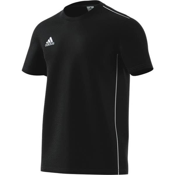 adidas Core 18 Black/White Tee