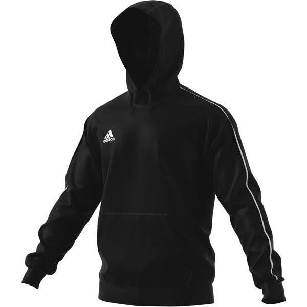 adidas Core 18 Hoody Dark Grey/black