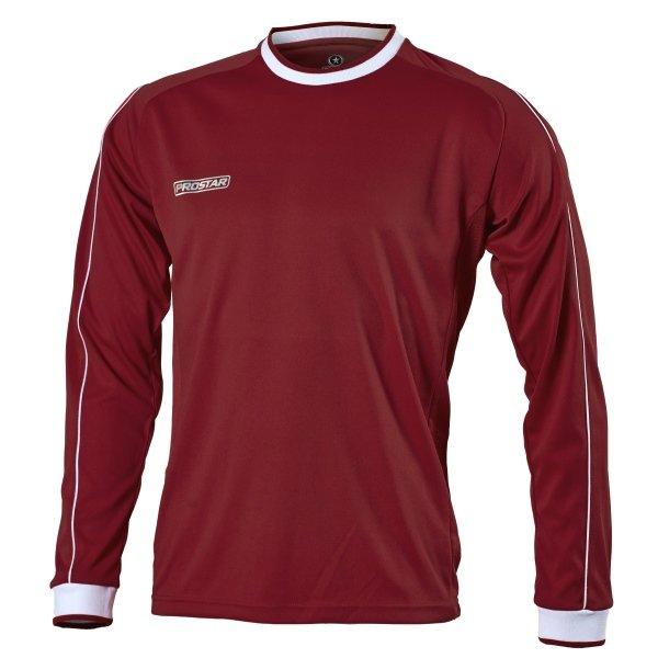 Prostar Celsius Maroon/White Football Shirt