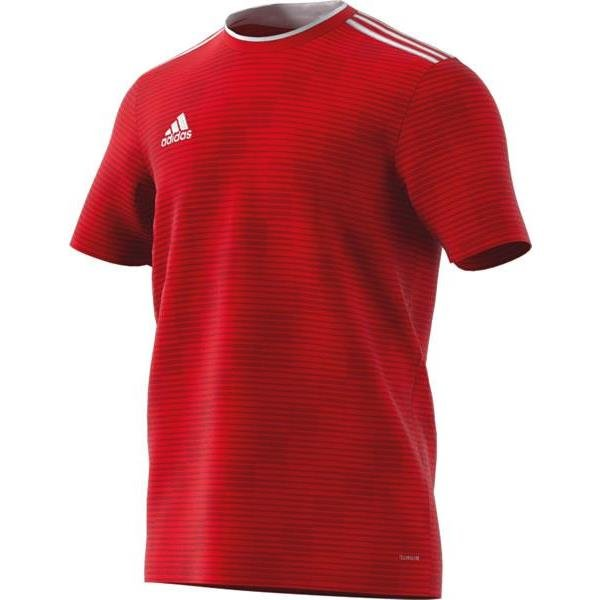 adidas Condivo 18 Power Red/White Football Shirt