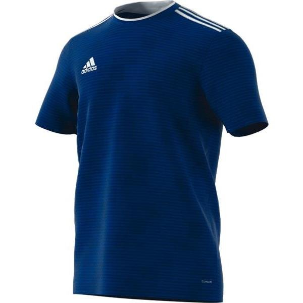 adidas Condivo 18 Football Shirt Yellow/bold Blue
