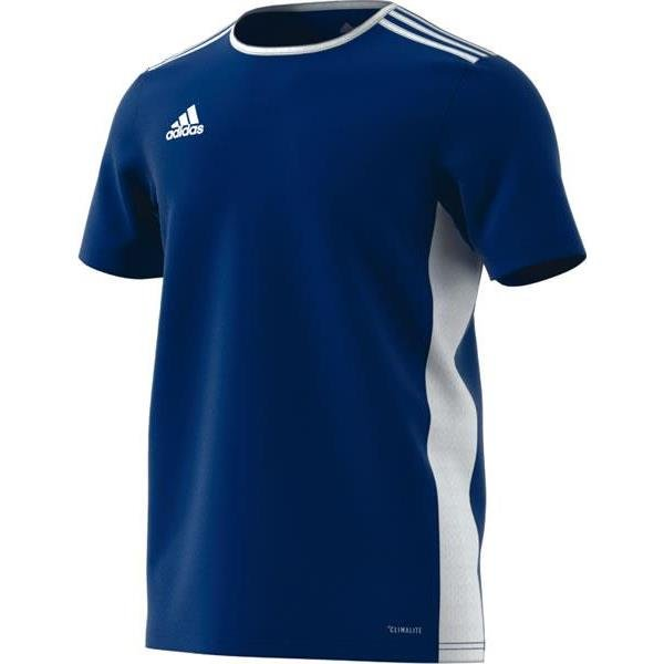 adidas Entrada 18 Football Shirt White/clear Grey
