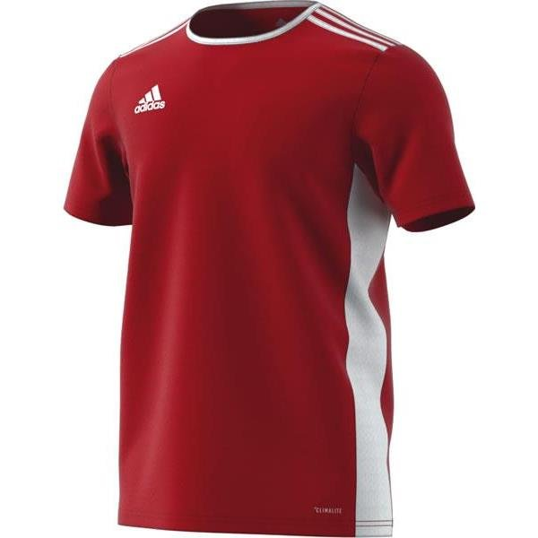 adidas Entrada 18 Power Red/White Football Shirt