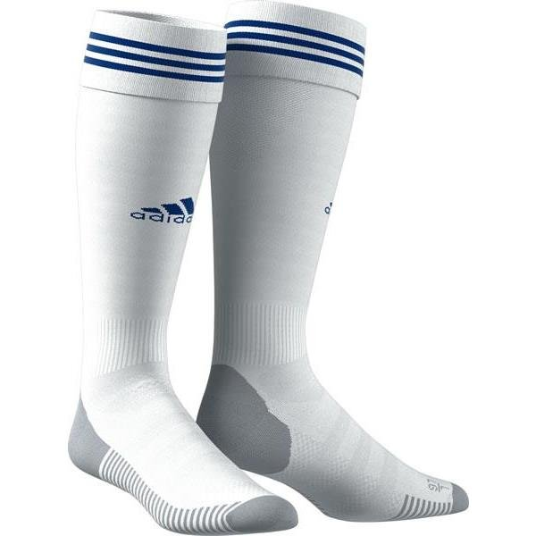 adidas ADI SOCK 18 White/Bold Blue Football Sock