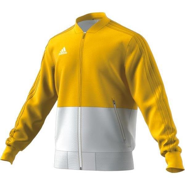 adidas Condivo 18 Yellow/White Presentation Jacket
