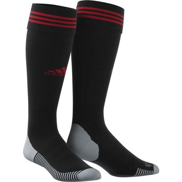 adidas ADI SOCK 18 Black/Power Red Football Sock
