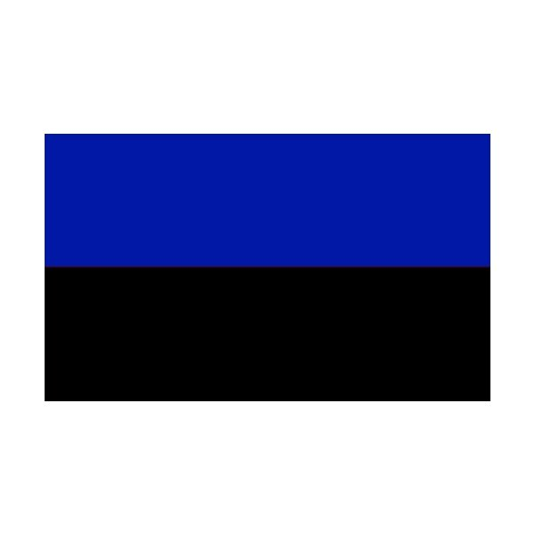 2 Colour Corner Flags Black/Royal