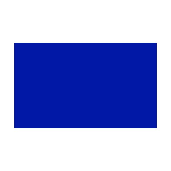 1 Colour Corner Flags Blue