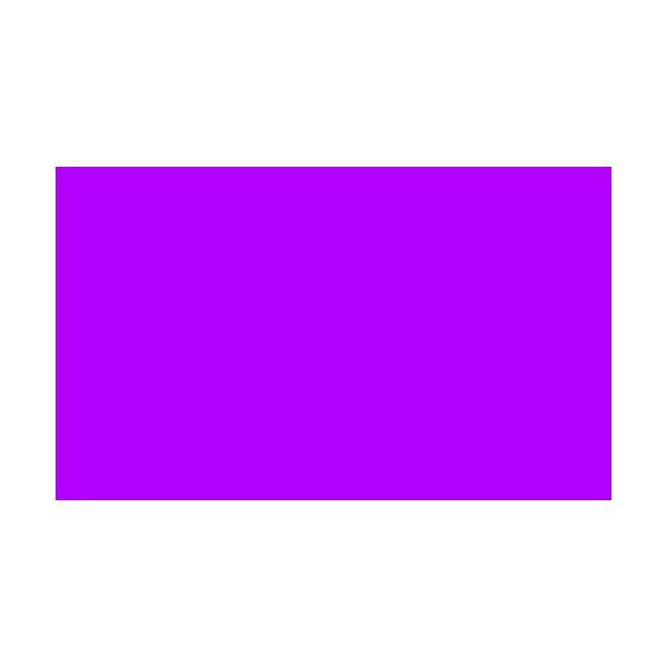 1 Colour Corner Flags Purple